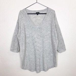 Torrid | 3/4 Sleeve Knit Sweater Sz 1